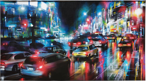 Dan Kitchener painting Straat International Street Art Museum