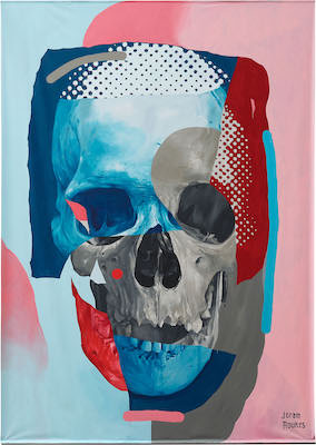 Joram Roukes painting anatomical study Straat international street art museum