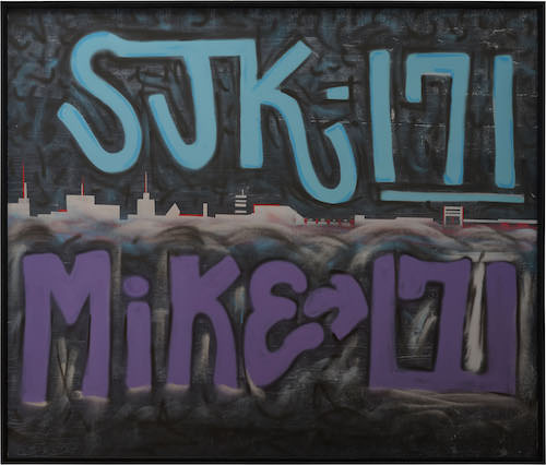 Mike 171 x SJK 171 graffiti Straat International Street Art Museum