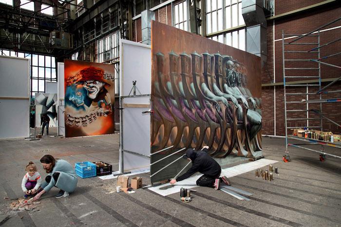 Sokar Uno Straat Museum Amsterdam