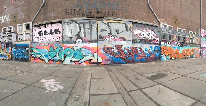 Bounce NDSM walls Amsterdam