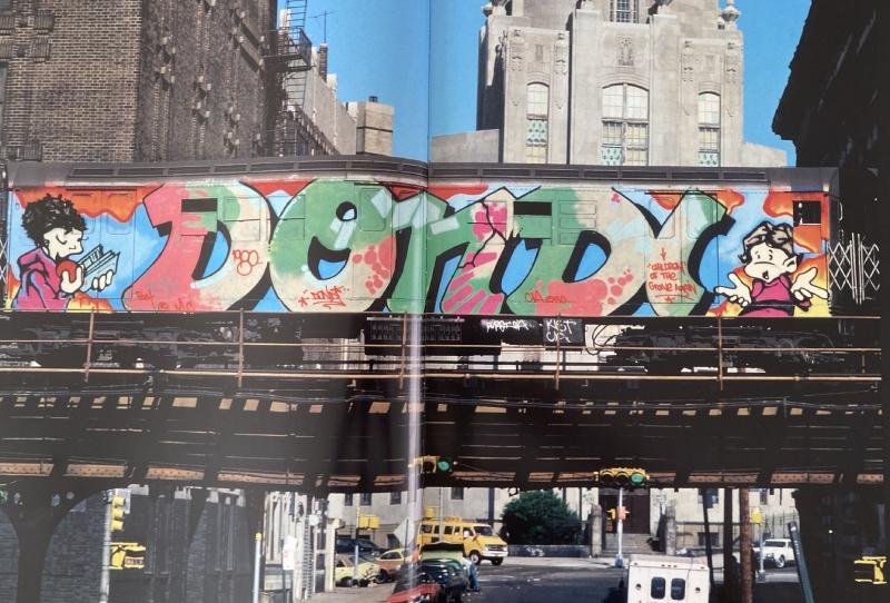 STRAAT Books, Subway Art, Dondi White, Martha Cooper
